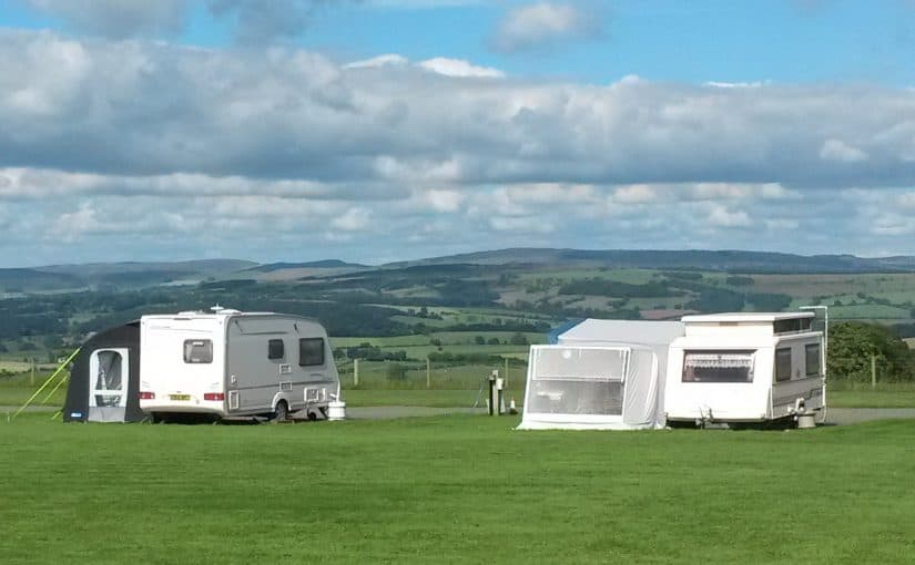 Five Caravan / Motorhome Pitches