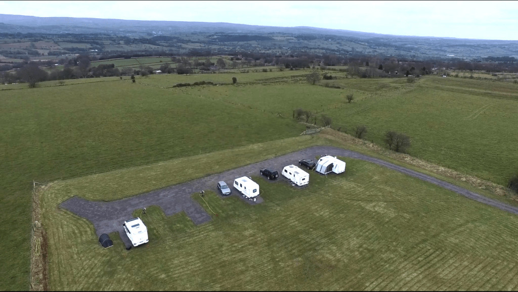 Five Hardstanding Fully Serviced Pitches