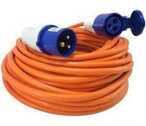Caravan Mains Hookup Cable