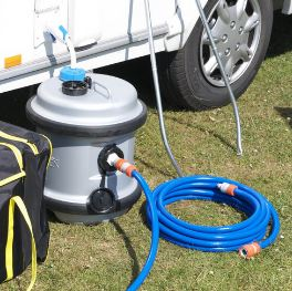 How to Sterilise a Caravan or Motorhome Water System