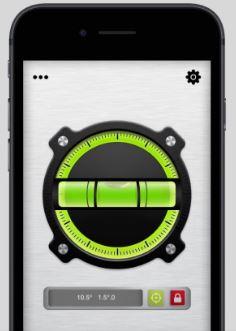 Smartphone Spirit Level App