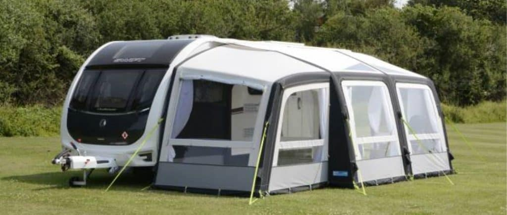 The durability of inflatable caravan air awnings.