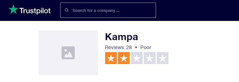 Kampa Trustpilot Reviews