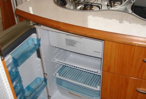 Caravan and motorhome fridges need to be level
