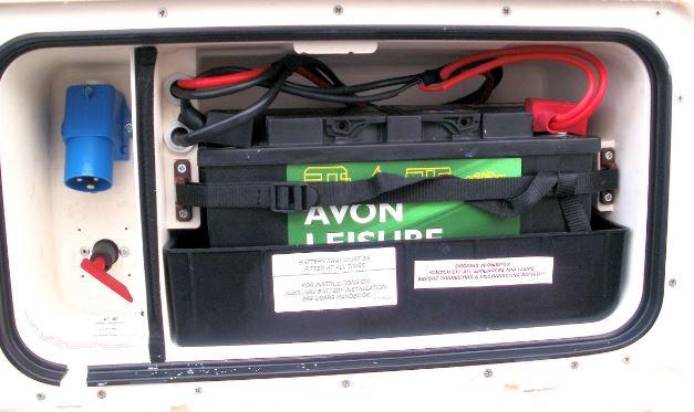 Caravan Leisure Battery Tray