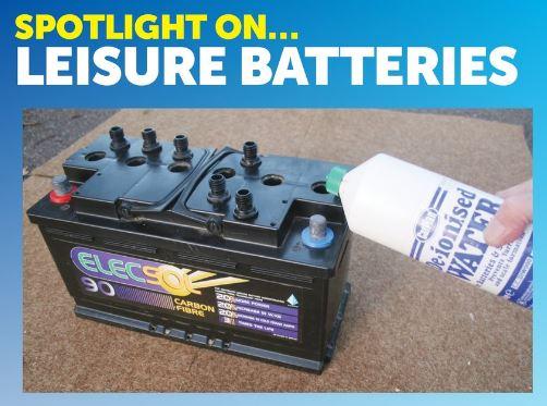 Open Lead-Acid Leisure Battery