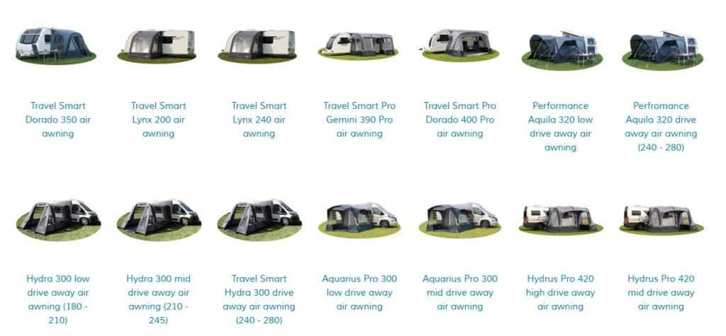 Quest Leisure Products Inflatable Air Awnings