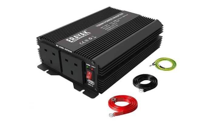 12V to 240V inverter to run a microwave in a caravan or motorhome