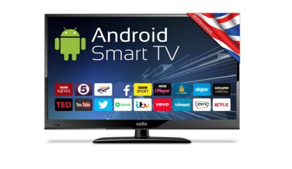 12V Smart TV for caravans and motorhomes