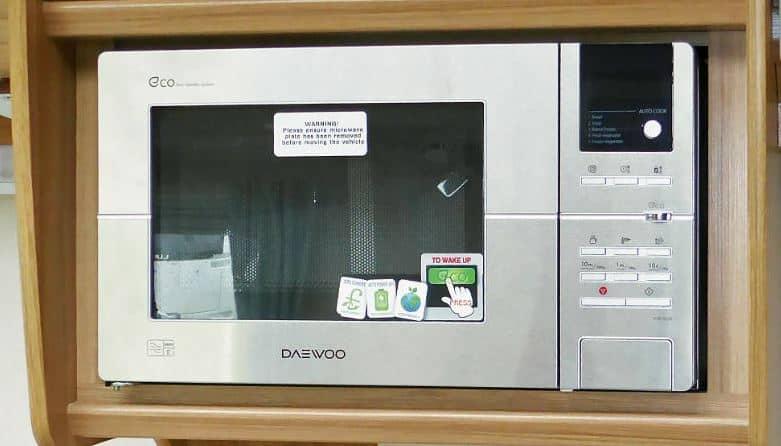 Caravan Microwave Oven