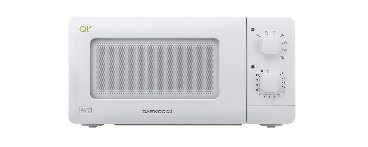 Daewoo QTR1 600W microwave oven for caravans and motorhomes
