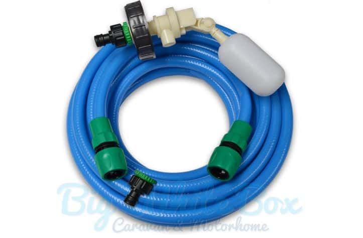 Float Valve mains water kit for caravans on fully serviced pitches