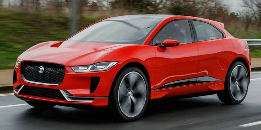 Jaguar I Pace is a pure electric car not capable of towing a caravan