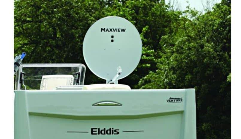 Maxview caravan and motorhome satellite dish