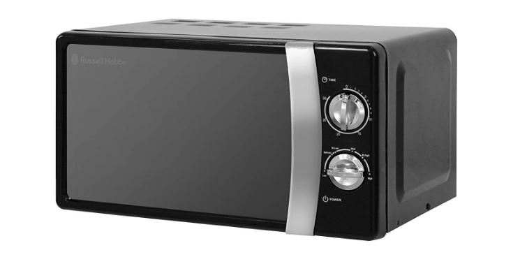 Russell Hobbs 700W microwave oven for caravans and motorhomes