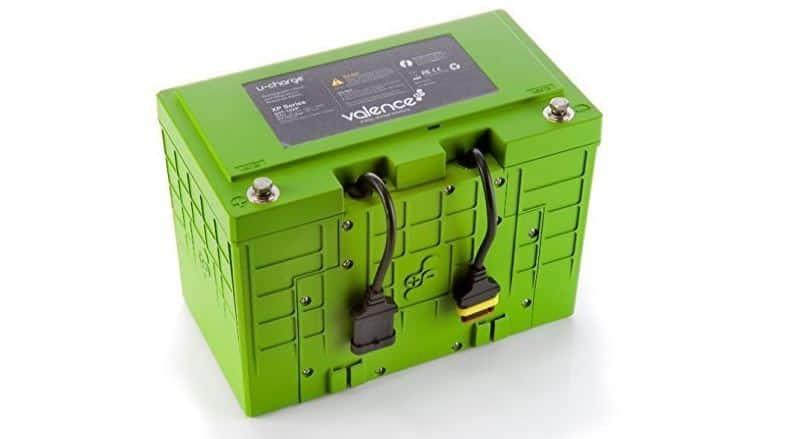 Used 12V Valence Lithium Battery