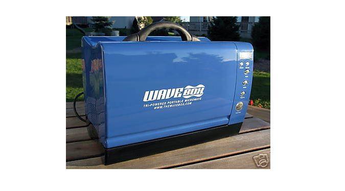 WaveBox 12V microwave oven for caravans and motorhomes