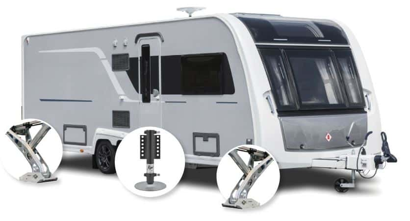 Caravan Self Levelling Devices