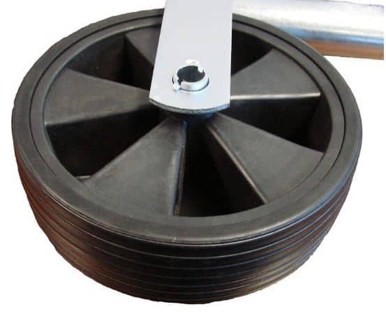 Plastic Caravan Jockey Wheel