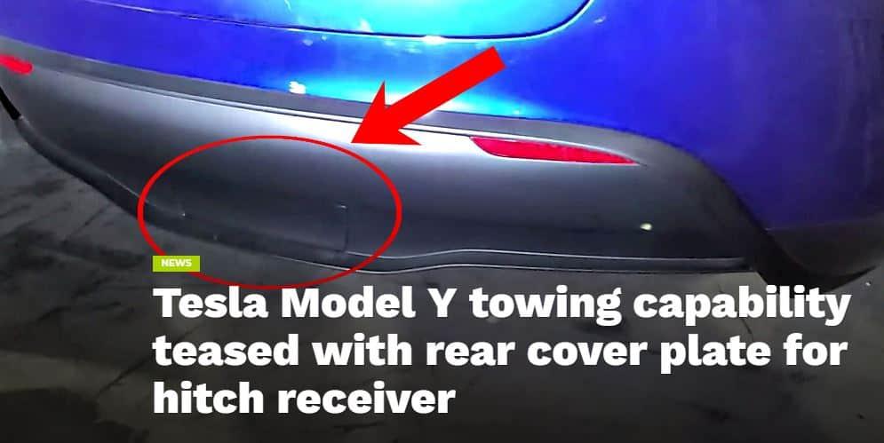 Tesla Model Y Tow Hitch