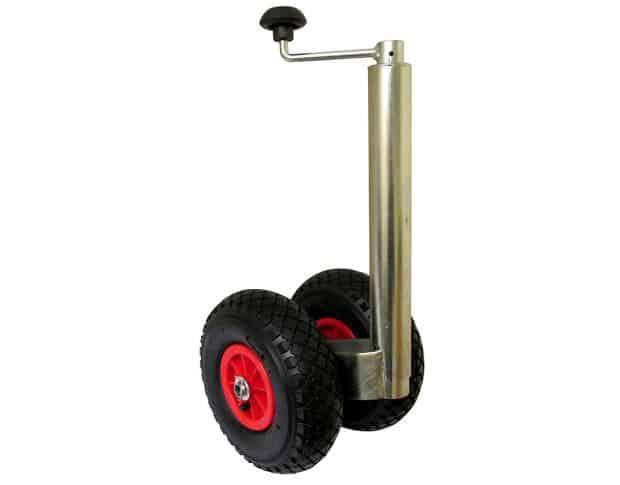 Twin Inflatable Caravan Jockey Wheel