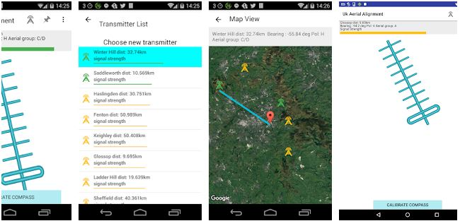 UK Aerial Alignment App