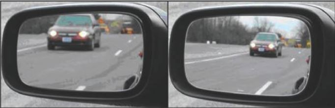 Flat vs Convex Mirrors