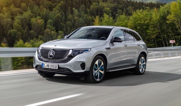 Mercedes EQC Electric Tow Car