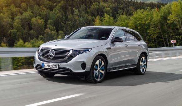 Mercedes EQC Electric Tow Car