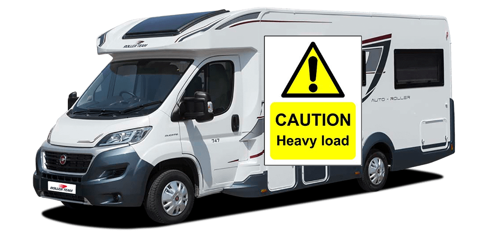 Motorhome Weight Plates Explained in