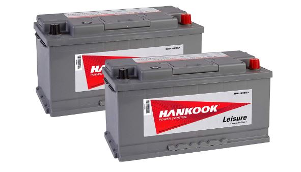 Double Motorhome Leisure Batteries