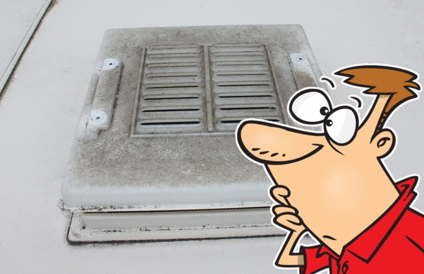How To Remove and Clean a Roof Light on Caravans and Motorhomes