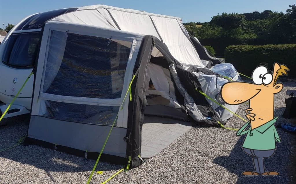 How To Repair an Air Awning