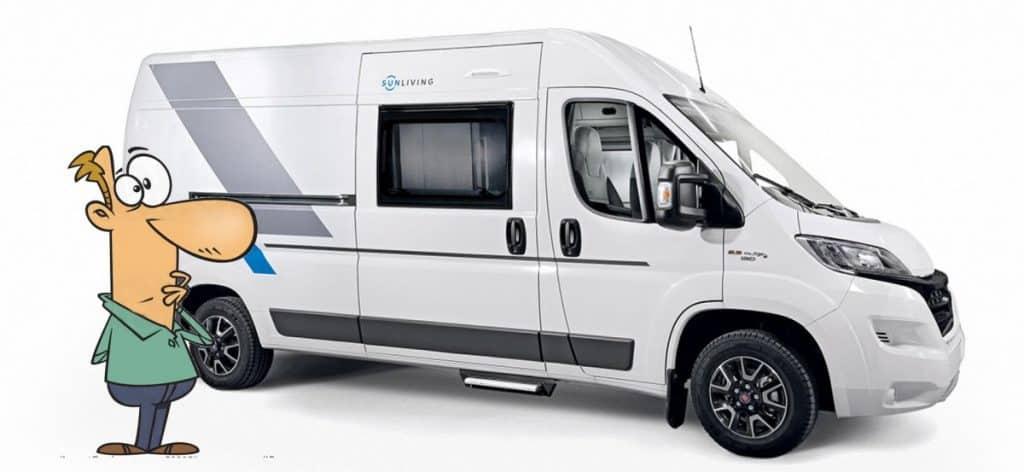 Campervan Advantages over Caravans