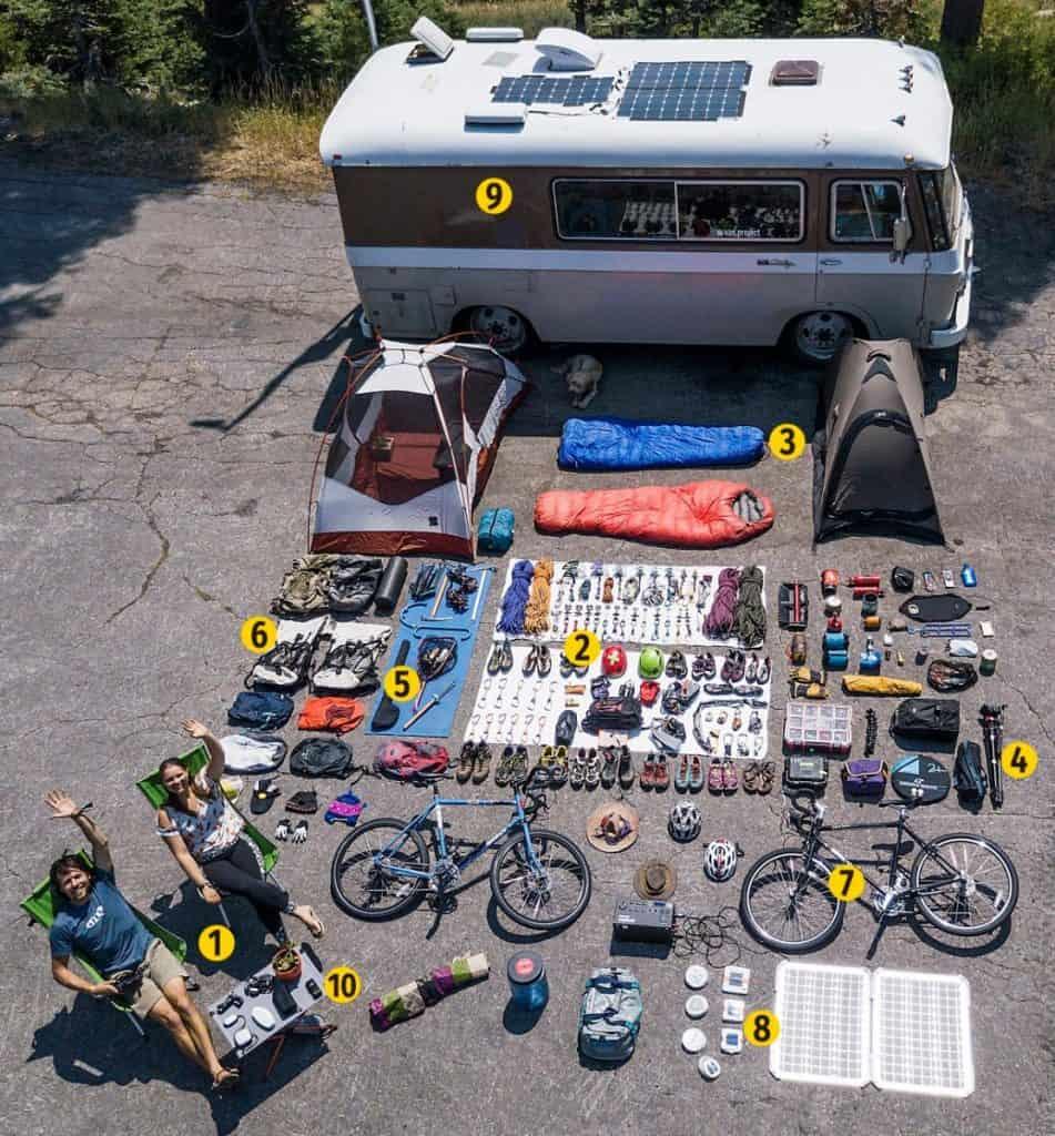 Campervan and Motorhome Accessories