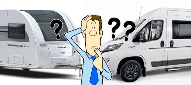 Campervans vs Caravans