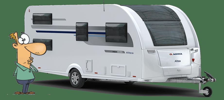 Caravan Advantages over Campervans