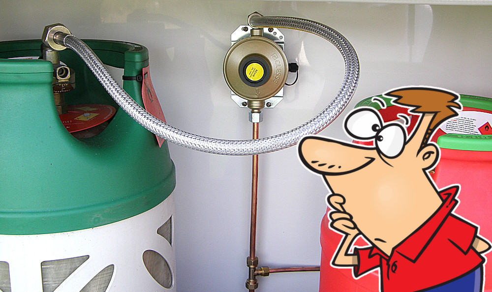 How To Change a Gas Bottle in a Caravan or Motorhome