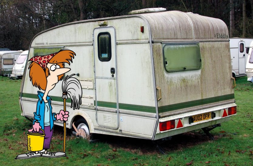 How To Clean A Caravan
