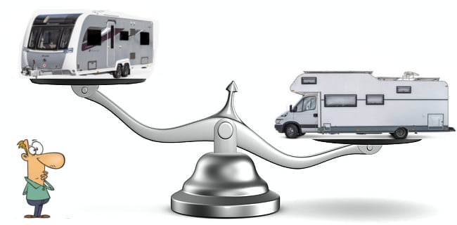 How To Weigh a Caravan, Motorhome or Campervan