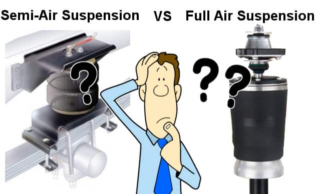 Motorhome Air Suspension