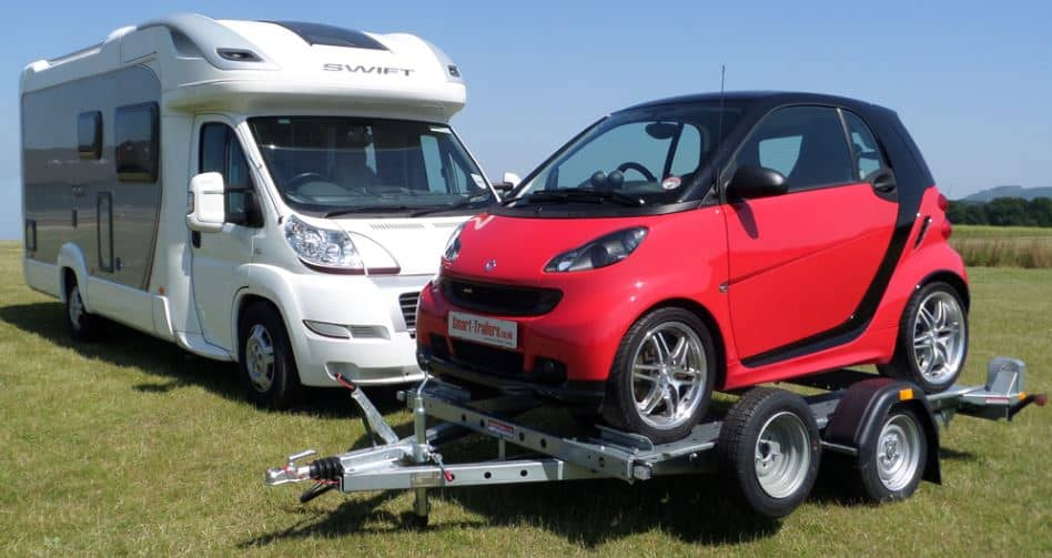 Motorhome Car Transporter Trailer