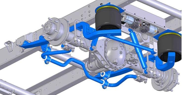 Motorhome Full Air Suspension