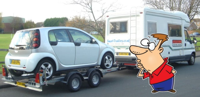 Motorhome Towing A Car