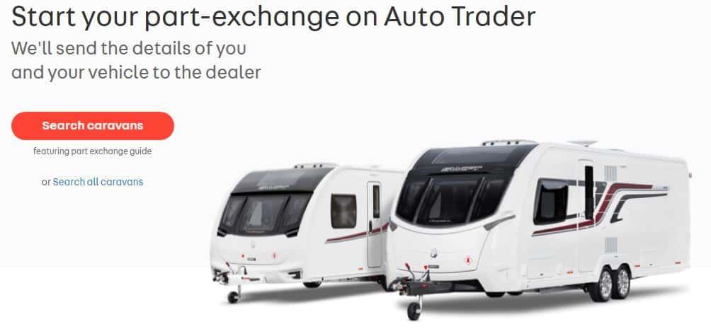 Caravan Part-Exchange Auto Trader