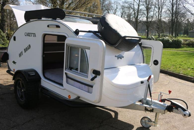 Caretta Off Road Teardrop Camping Trailer