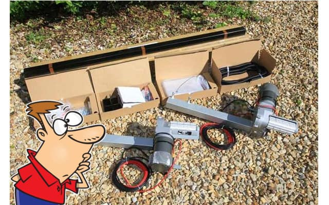 DIY Caravan Motor Mover Install