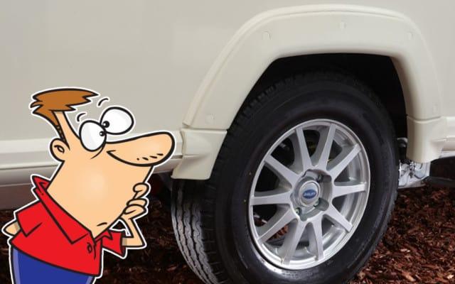How To Change a Caravan Flat Tyre