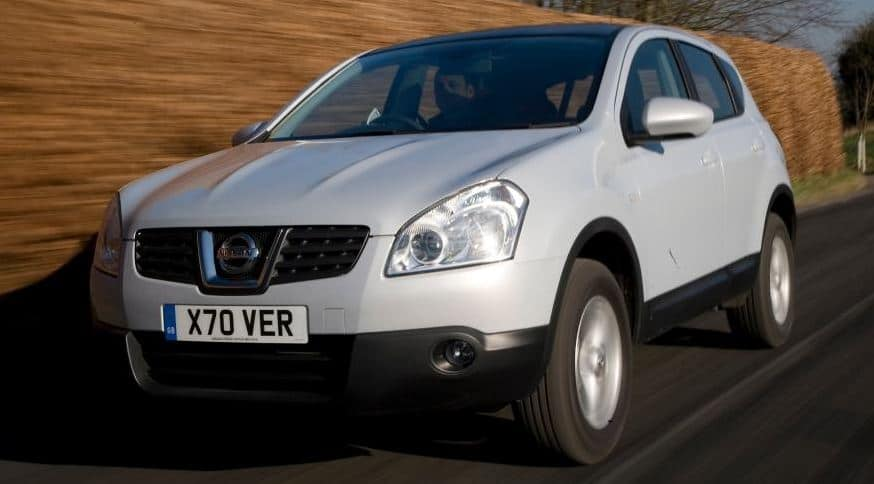 Nissan Qashqai was offered at 2WD or 4WD Crossover