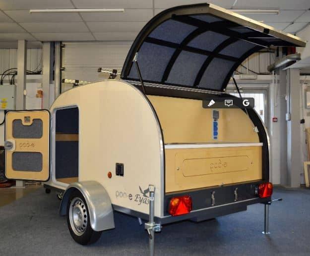 SL Industries Pod-E Eyas Teardrop Camping Trailer